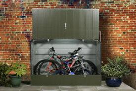 ガーデナップ 自転車倉庫 スタンダードサイクル ツートーン(ムーアランド&オリーブグリーン) TMBSMLOG ※お客様組立品