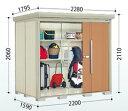 タクボ物置 Mr.ストックマン ダンディ 【一般型 標準屋根】ND-2215[収納庫/収納/屋外収納庫/屋外/倉庫/中型/大型/激安/価格/小屋]
