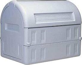 三甲 ゴミステーション 大型ゴミ箱 サンコー ゴミステーション サンクリーンボックス 800 キャスターなし[業務用/工場/マンション/アパート/カラス/対策/猫/大容量/ごみ/ゴミ箱/ゴミストッカー]
