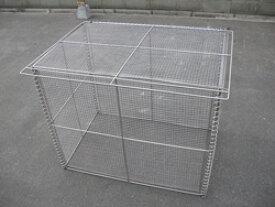 ゴミステーション 大型ゴミ箱 テラダ ゴミステーション オールステン 簡易折りたたみ式 GOS-90 [自治会/町内会/折畳/大容量/ゴミ箱]