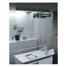 立川ブラインド工業 透明ロールスクリーン W600