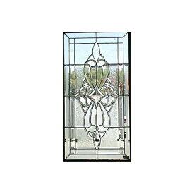 遮音・断熱・防犯性のステンドグラス ピュアグラス Aサイズ SH-A01 [ステンドグラス/ガラス/インテリア/窓/小窓/室内/屋内]