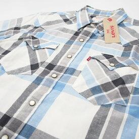 【中古】【新古品】Levi's S/S WESTERN SHIRTS リーバイス ウエスタンシャツ