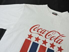 【新古品】【未使用品】SURT×COCA COLA サート コカコーラ ONEITA オニータ 半袖Tシャツ M/Lサイズ ホワイト ブラック