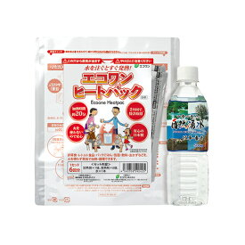 エコワン ヒートパック E-01 発熱剤6回分 水付き