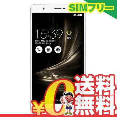 新品 未使用 ASUS ZenFone3 Ultra Dual SIM ZU680KL 64GB Glacier Silver 【海外版】 SIMフリー スマホ 本体 送料無料【当社6ヶ月保証】【中古】 【 携帯少年 】