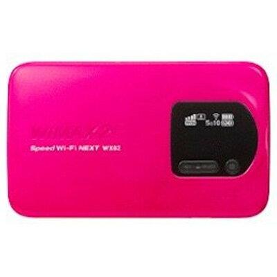 白ロム 【UQWiMAX版】Speed Wi-Fi NEXT WX02 NAD32SWU マゼンタ[中古Bランク]【当社1ヶ月間保証】 モバイルルーター 中古 本体 送料無料【中古】 【 中古スマホとタブレット販売のイオシス 】