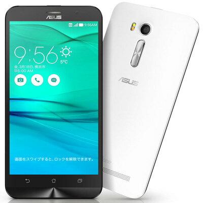 新品 未使用 Asus ZenFone Go ZB551KL-WH16 ホワイト【楽天版】 SIMフリー スマホ 本体 送料無料【当社6ヶ月保証】【中古】 【 中古スマホとsimフリー端末販売の携帯少年 】