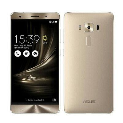 中古 ASUS ZenFone3 Deluxe Dual SIM ZS570KL 64GB Shimmer Gold【海外版】 SIMフリー スマホ 本体 送料無料【当社1ヶ月間保証】【中古】 【 携帯少年 】