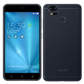 中古 【再生品】ASUS ZenFone Zoom S Dual SIM ZE553KL-BK64S4 Navy Black 【64GB 国内版】 SIMフリー スマホ 本体 送料無料【当社3ヶ月間保証】【中古】 【 携帯少年 】