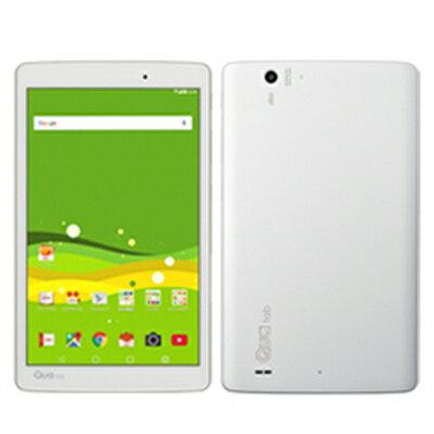 新品 未使用 【SIMロック解除済】Qua tab PX LGT31 White au 8.0インチ アンドロイド タブレット 本体 送料無料【当社6ヶ月保証】【中古】 【 携帯少年 】