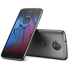中古 Motorola Moto G5S XT1797 [32GB Luna Gray 国内版] SIMフリー スマホ 本体 送料無料【当社3ヶ月間保証】【中古】 【 携帯少年 】