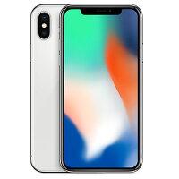 Apple【SIMロック解除済】【ネットワーク利用制限▲】docomoiPhoneX64GBA1902(MQAY2J/A)シルバー