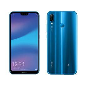 未使用 【SIMロック解除済】Huawei P20 lite HWV32 Klein Blue au スマホ 白ロム 本体 送料無料【当社6ヶ月保証】【中古】 【 携帯少年 】