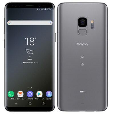新品 未使用 Galaxy S9 SCV38 Titanium Gray au スマホ 白ロム 本体 送料無料【当社6ヶ月保証】【中古】 【 携帯少年 】