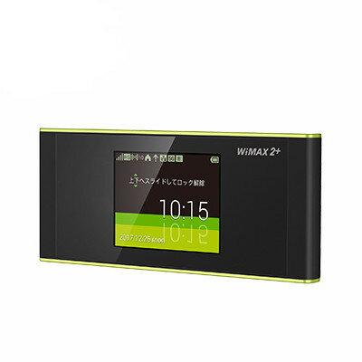 中古 【UQWiMAX版】Speed Wi-Fi NEXT W05 HWD36SKU ブラックxライム モバイルルーター 本体 送料無料【当社3ヶ月間保証】【中古】 【 携帯少年 】