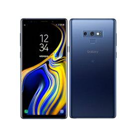 【SIMロック解除済】au Galaxy Note9 SCV40 Ocean Blue SAMSUNG 当社3ヶ月間保証 中古 【 中古スマホとタブレット販売のイオシス 】