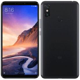 中古 Xiaomi Mi Max 3 Dual-SIM 【Black 4GB 64GB グローバル版】 SIMフリー スマホ 本体 送料無料【当社3ヶ月間保証】【中古】 【 携帯少年 】