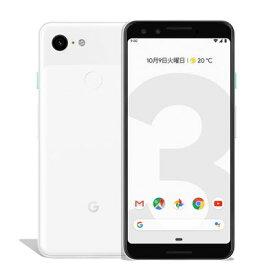 中古 【SIMロック解除済】Google Pixel3 G013B [Clearly White 64GB] docomo スマホ 白ロム 本体 送料無料【当社3ヶ月間保証】【中古】 【 携帯少年 】