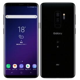 中古 Galaxy S9+ SCV39 Midnight Black au スマホ 白ロム 本体 送料無料【当社3ヶ月間保証】【中古】 【 携帯少年 】