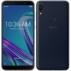 ASUS Zenfone Max Pro M1 ZB602KL 32GB Black 【国内版 SIMフリー】 ASUS 当社3ヶ月間保証 中古 【 中古スマホとタブレット販売の携帯少年 】