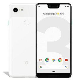 中古 【SIMロック解除済】 Google Pixel3 XL G013D [Clearly White 128GB] docomo スマホ 白ロム 本体 送料無料【当社3ヶ月間保証】【中古】 【 携帯少年 】