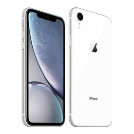 【SIMロック解除済】docomo iPhoneXR A2106 (MT032J/A) 64GB ホワイト Apple 当社3ヶ月間保証 中古 【 中古スマホとタブレット販売の携帯少年 】