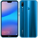 新品 未使用 Huawei P20 lite ANE-LX2J Klein Blue【Y!mobile版】 SIMフリー スマホ 本体 送料無料【当社6ヶ月保証】【中古】 【 携帯少年 】