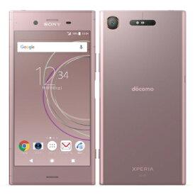【SIMロック解除済】docomo Xperia XZ1 SO-01K Venus Pink SONY 当社3ヶ月間保証 中古 【 中古スマホとタブレット販売のイオシス 】
