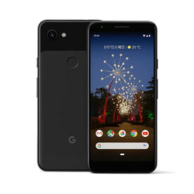 【SIMロック解除済】Softbank Google Pixel3a G020H [Just Black 64GB] Google 当社3ヶ月間保証 中古 【 中古スマホとタブレット販売の携帯少年 】