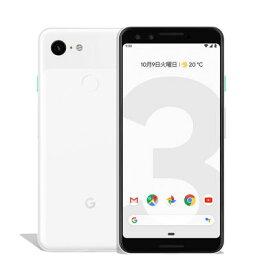 【SIMロック解除済】Softbank Google Pixel3 G013B [Clearly White 64GB] Google 当社3ヶ月間保証 中古 【 中古スマホとタブレット販売の携帯少年 】