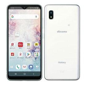 未使用 【SIMロック解除済】Galaxy A20 SC-02M White docomo スマホ 白ロム 本体 送料無料【当社6ヶ月保証】【中古】 【 携帯少年 】