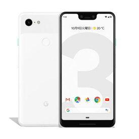 中古 【SIMロック解除済】【ネットワーク利用制限▲】 Google Pixel3 XL G013D [Clearly White 128GB] docomo スマホ 白ロム 本体 送料無料【当社3ヶ月間保証】【中古】 【 携帯少年 】