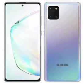 未使用 Samsung Galaxy Note10 Lite Dual-SIM SM-N770FD【Aura Glow 8GB 128GB 海外版】【ACアダプタ欠品】 SIMフリー スマホ 本体 送料無料【当社6ヶ月保証】【中古】 【 携帯少年 】