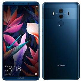 【SIMロック解除済】Softbank HUAWEI Mate 10 Pro 703HW BLA-L09 ミッドナイトブルー Huawei 当社3ヶ月間保証 中古 【 中古スマホとタブレット販売の携帯少年 】