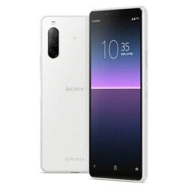 未使用 Sony Xperia10 ? Dual-SIM XQ-AU52 White【RAM4GB ROM128GB/海外版】【ACアダプタ欠品】 SIMフリー スマホ 本体 送料無料【当社6ヶ月保証】【中古】 【 携帯少年 】