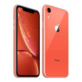 【SIMロック解除済】docomo iPhoneXR A2106 (MT102J/A) 256GB コーラル Apple 当社3ヶ月間保証 中古 【 中古スマホとタブレット販売の携帯少年 】