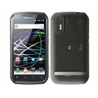 新货未使用的MOTOROLA PHOTON ISW11M影子黑色au智能手机白只读存储器本体