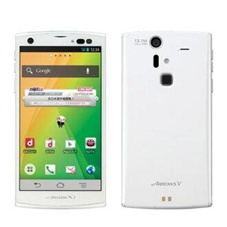 箭头 V F-04E 白色智能手机使用未使用的白色 LOM docomo 身体。