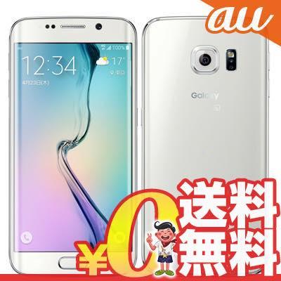 中古 Galaxy S6 edge SCV31 32GB White Pearl au スマホ 白ロム 本体 送料無料【当社1ヶ月間保証】【中古】 【 携帯少年 】