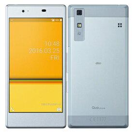 新品 未使用 Qua phone KYV37 ICE BLUE au スマホ 白ロム 本体 送料無料【当社6ヶ月保証】【中古】 【 携帯少年 】