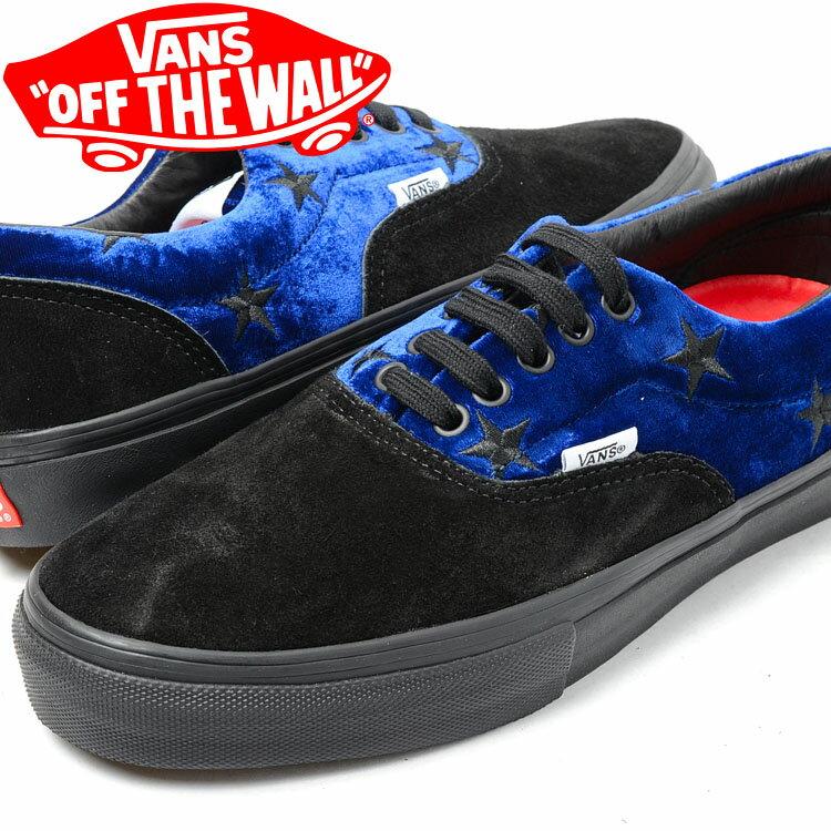 【送料無料】SUPREME x VANS Velvet Era PRO BLUE バンズ×シュプリーム ブルー メンズ スニーカー