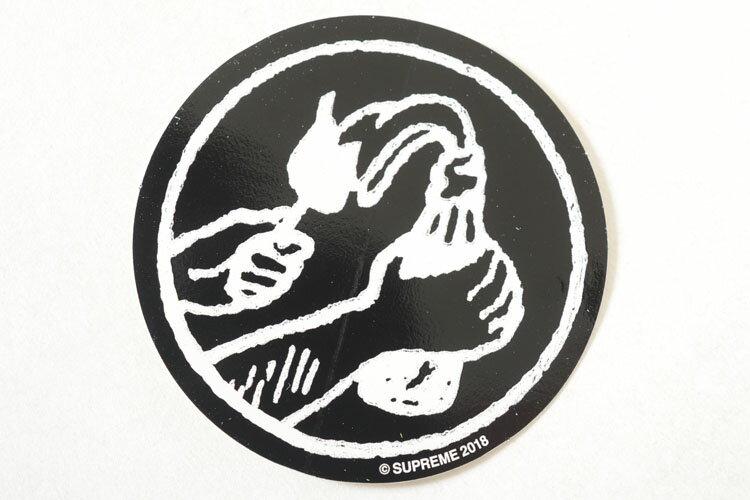 Supreme Molotov Sticker シュプリーム モロトフ ステッカー ブラック