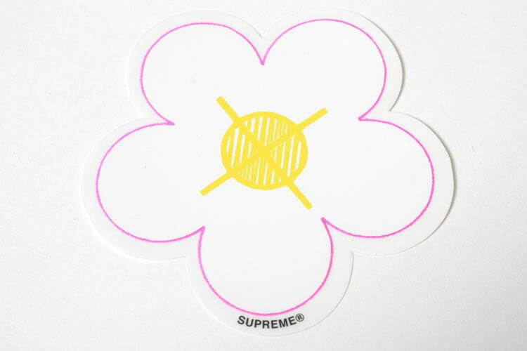 Supreme Flower sticker シュプリーム フラワー ステッカー