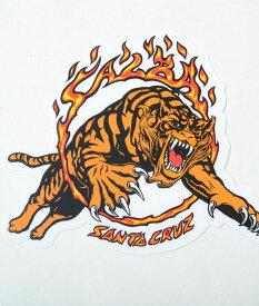 SANTA CRUZ sticker サンタクルズ ステッカー タイガー tiger