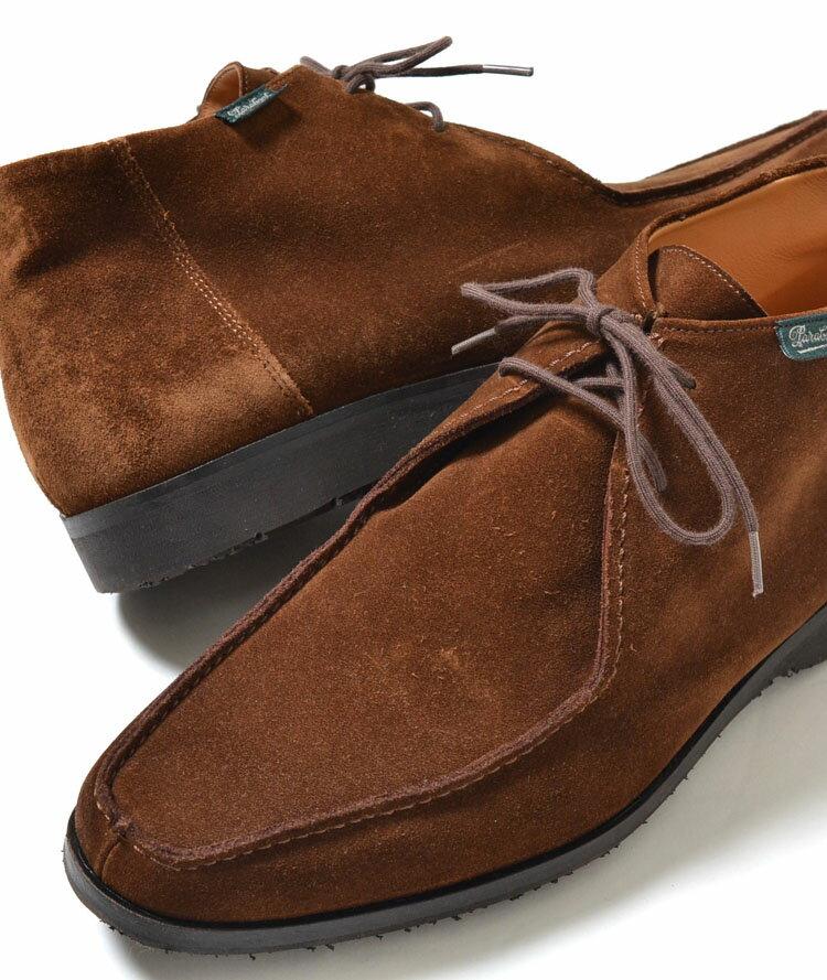 【送料無料】PARA BOOT VAL/BALNEO パラ ブーツ スエード ブラウン メンズ スニーカー