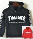 THRASHER HOODED SWEATSHIRT スラッシャー パーカー ベビー キッズ 子供服 THRASHERロゴ