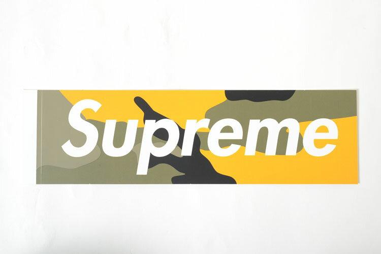 Supreme Brooklyn Camo Box Logo Sticker シュプリーム ブルックリン カモ ボックスロゴ ステッカー