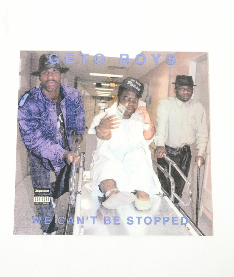 Supreme/Rap-A-Lot Records Geto Boys Sticker シュプリーム×Rap-A-Lot Records ゲトー ボーイズ ステッカー