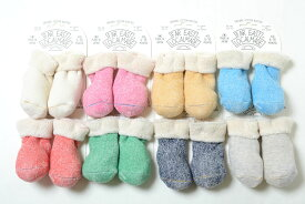 ベビーソックス 靴下 FAR EAST LOCALMADE ファーイーストローカルメイド パイルブーティー MADE IN JAPAN 日本製 シンプル プレゼント 赤ちゃん 新生児 0歳 1歳 オーガニックコットン